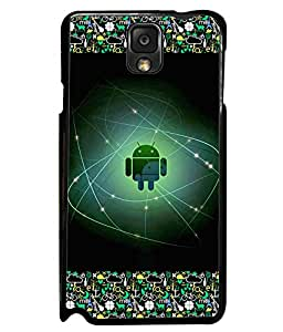 Fuson 2D Printed Android Designer back case cover for Samsung Galaxy Note 3 - D4173