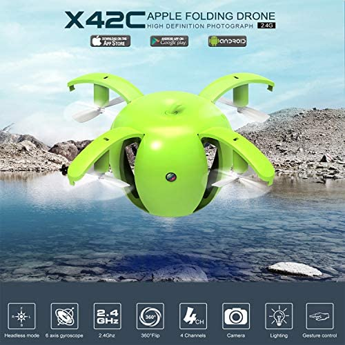FairytaleMM X42-1 30W Gravity Induction WiFi Headless Headless Headless Mode Altitude Attente RC Quadcopter 5f55fd