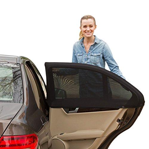 Preisvergleich Produktbild Xcellent Globale Fenster Schatten Auto Sonnenschirme schützt Baby Kinder Haustiere mit UV-Schutz Auto Windows Covers 41 * 21,6 Zoll für die meisten Auto und SUV AT028L