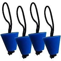 4 Piezas Kayak Tapón Kit Canoa Dren Agujeros Tapón Fàcil de Instalar Herramientas Accesorios