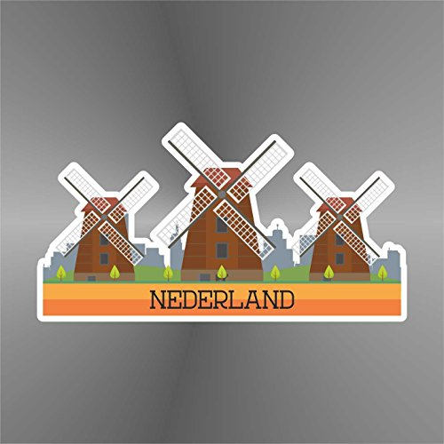 Sticker Olanda Holland Hollande Holanda Nederlands - Decal Cars Motorcycles Helmet Wall Camper Bike Adesivo Adhesive Autocollant Pegatina Aufkleber - cm 13