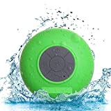Jyoti Water Proof Shower Speaker with Mic Wireless Portable Stereo - Bluetoot Speaker