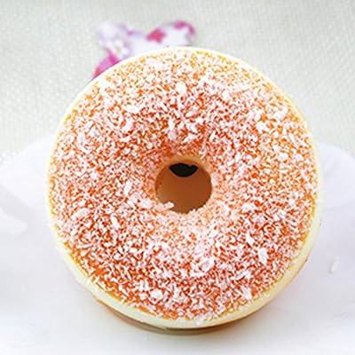 Familizo Beignet de Simulation, Squishy Squeeze Stress Reliever Doux Coloré Donut Lente Rising Jouets Rising de Familizo - Tapis de souris