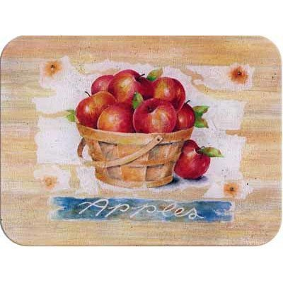 Tuftop Apples (Tuftop McGowan Apple Basket Cutting Board, Multicolor by Tuftop)