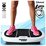 Miweba Sports Fitness Vibrationsplatte MV200 – 3 Vibrationsmodi – Horizontal – Vertikal – Oszillierend – 400 Watt (Weiß)