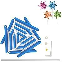 Exing Windrad Windmühlen Pinwheel Windspiel Windräder,Plastic 40x30cm - Gärten/Terrassen / Balkone Dekoration Spielzeug Für Kinder