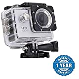 #7: Drumstone 1080P 12MP Sports DV Action Waterproof Camera Works With All Android or iPhone Devices (Color May Vary)