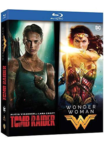 BIPACK TOMBRAIDER - WONDERWOMAN /V 2DBD [Blu-ray]