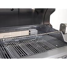 vidaXL BBQ Rotisserie verchromter Grillspie/ß Drehspie/ß mit Motor 4W Stahl 1000mm