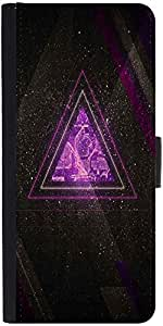 Snoogg Zoyd Dimensions Designer Protective Phone Flip Case Cover For Vivo V1