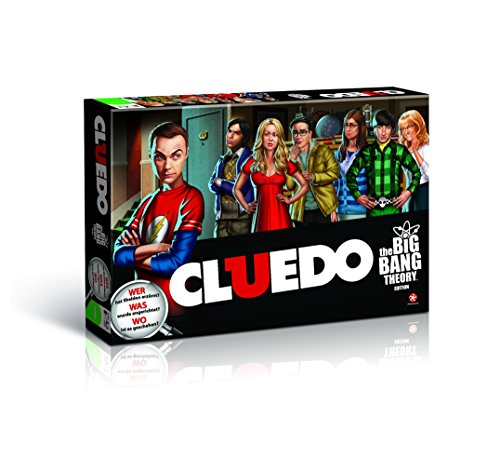 Winning Moves WIN10685 - Cluedo - The Big Bang Theory, Brettspiel