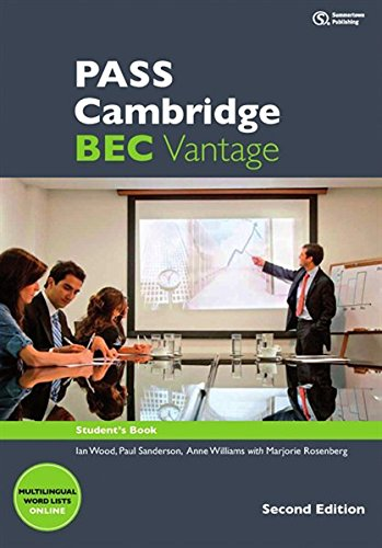 PASS Cambridge BEC, Vantage. 2nd Ed.: Student's Book m. 2 Audio-CDs. Von Summertown Publishing