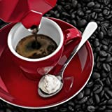 Eurographics DG-UWE1182 Deco Glass, Black Cherry Espresso, 20 x 20 cm
