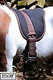 Tysons Breeches Bareback Bare Back Pad Reitkissen Sattelpad Sattel Ersatz Sitzkissen Minishetty Shettyx Pony (Shetty)
