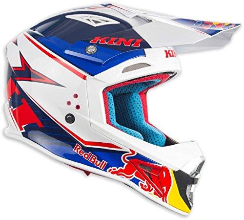 KINI 3l4017066Ausrüstung Pilot mit Helm, Pantalon, Shirt und Handschuh, Größe XXL/64, Blau (Riding-shirt Bull)