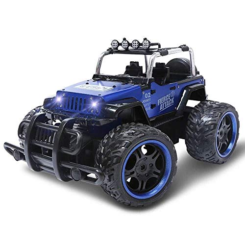 High-Speed-Ferngesteuertes Auto, 360 ° drehbarer Allradantrieb im Gelände - 2,4 GHz-Ferngesteuertes Auto - Monster-Truck im Maßstab 1:12 - Rock Crawler Field Mountainbike - Spielzeug-Doppelmotor - bes