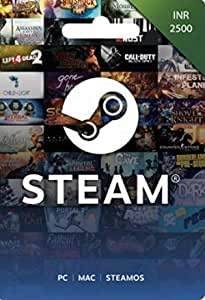INR 2500 Steam Wallet Code (Digital Code- Email Delivery within 2 hours)