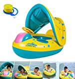 HBONE Inflatable Baby Pool Float Swimming Ring Baby Seat Boat Yacht, Floating Toy