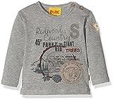 Steiff Collection Jungen Langarmshirts T-shirt 1/1 Arm, Gr. 116, Grau (mittelgrau 8241)