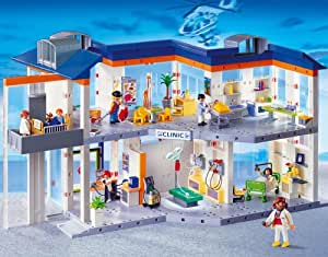 PLAYMOBIL® 4404 - Großes Krankenhaus mit Einrichtung
