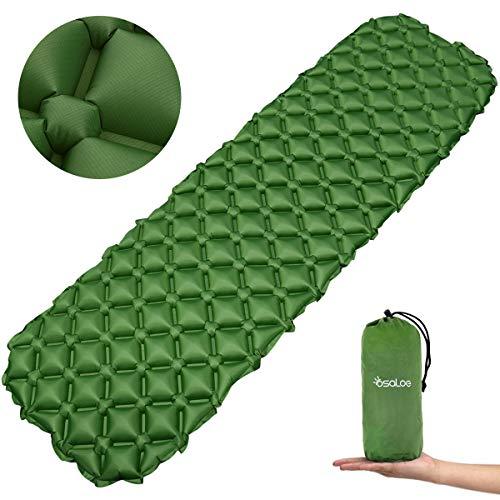 Osaloe Esterilla Acampada Camping 70D Colchoneta Inflable Impermeable para Acampar para Actividades...