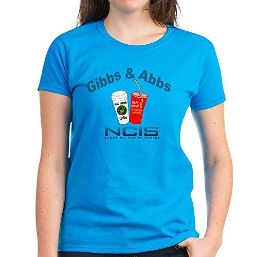 CafePress Gibbs & Abbs T-Shirt - Womens Cotton T-Shirt