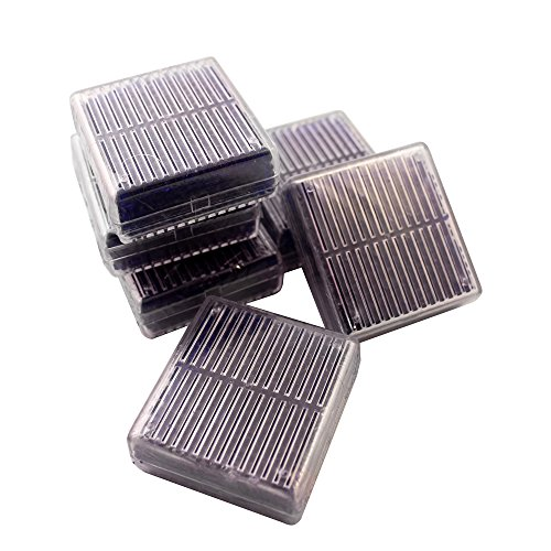 BestOfferBuy 6 Stück Wiederverwendbare Kieselgel Silicagel Trockenmittel Entfeuchter Box