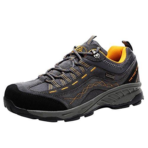 XI-GUA , Scarpe da camminata ed escursionismo uomo, Grigio (Grau), 44