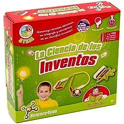 Science4you-La La Ciencia de Los Inventos - Juguete científico y Educativo Stem para Niños +8 Años (605206)