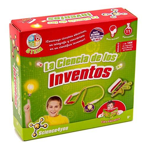 Science4you-La Ciencia de Los Inventos Juguete científico y Educativo Stem (605206)