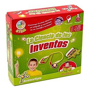 Science4you-La Ciencia de Los Inventos Juguete científico y Educativo Stem para niños +8 años (605206)