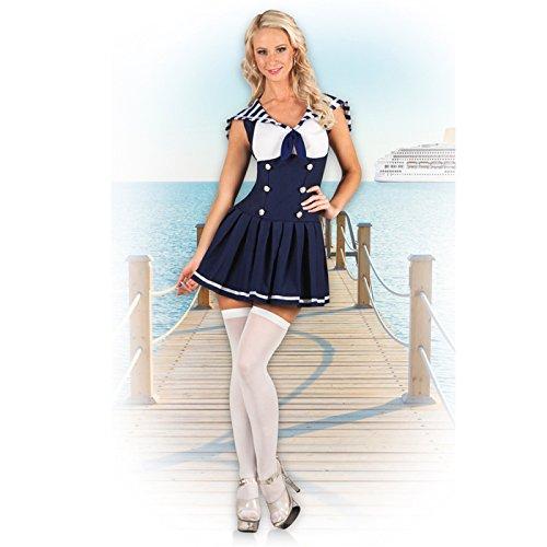PARTY DISCOUNT NEU Damen-Kostüm Sexy Matrosin, - Discount Sexy Kostüm