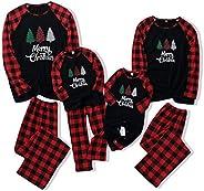 iFCOW - Conjunto de pijama de Navidad para niños y niñas