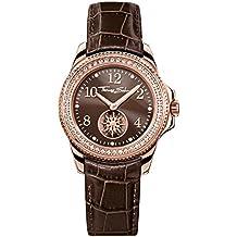 Thomas Sabo Damen-Armbanduhr Glam Chic Rosegold Braun Analog Quarz