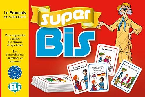 Super Bis - Le Français en s'amusant: Français. 132 Spielkarten, Spieleanleitung