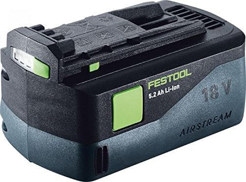 Preisvergleich Produktbild Festool Akkupack 18V, 1 Stück, schwarz, BP 18 Li 5,2 AS