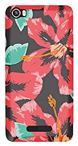 TrilMil Printed Designer Mobile Case Back Cover For Lava Iris X8