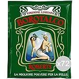 Borotalco Set 72 Roberts Talco Busta 100 Gr Cura E Igiene della Persona, Multicolore, Unica