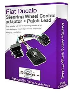 FIAT DUCATO voiture Radio adaptateur, Connectez votre Volant de commande au volant les boutons