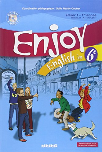 Enjoy English in 6e (1CD audio)