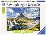 Ravensburger 19539 - Nature Edition Cascate di Kirkjufell Islanda Puzzle, 1000 Pezzi