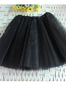 Mujer Faldas Tiro Alto Mini Poliéster / Nailon Eslático Verano , one-size