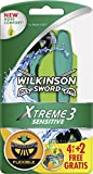 Wilkinson Sword Xtreme 3 Sensitive 4 + 2
