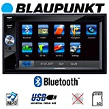 Blaupunkt Santa Cruz 370 - Doppel-DIN CD/MP3-Autoradio mit Touchscreen/Bluetooth/USB/SD/iPod