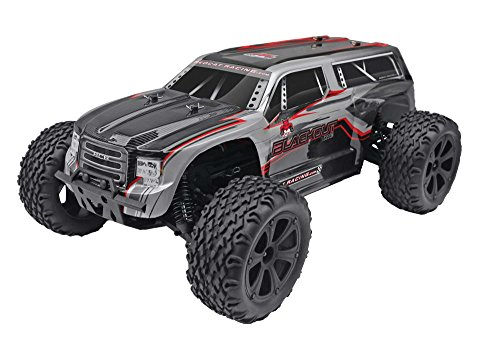 Redcat-Racing-Blackout-XTE-110-Scale-Electric-Monster-Truck-with-Waterproof-Electronics-SilverRed-SUV