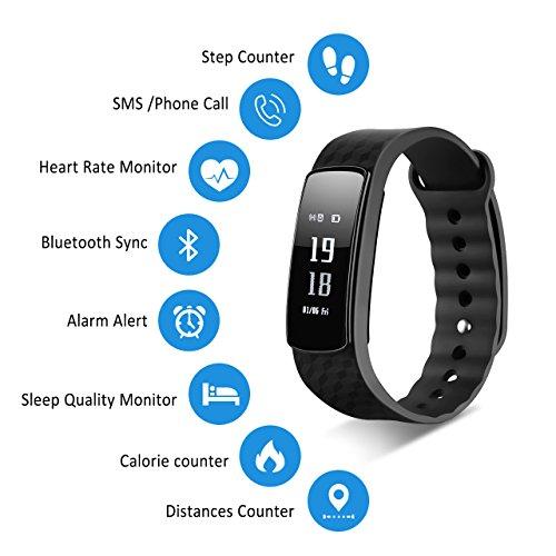 Zoom IMG-1 mpow smartwatch con schermo per