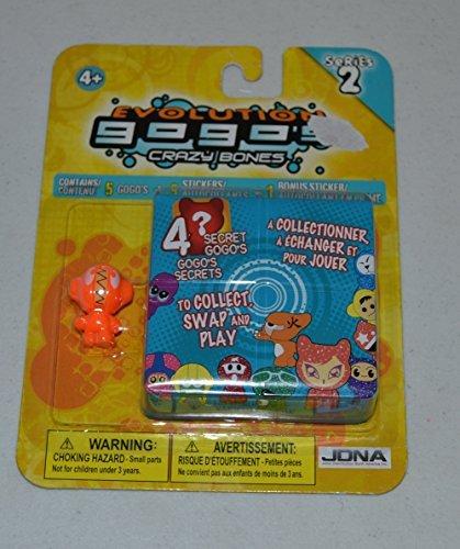 Crazy Bones Gogos Series 2 Evolution 5Pack Blister
