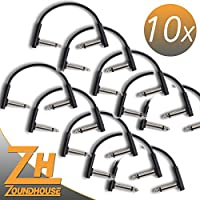 10x Rock madre Flat Patch Cable 10cm–Cavo patch