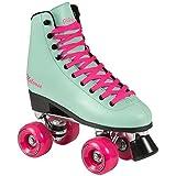 Playlife Melrose Deluxe Rollschuhe Disco Roller türkis türkis-pink, 36