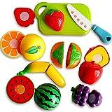 Gankmachine Kunststoff Gemüse Obst Cutter Brett Haus Spielen Spielzeug-Kind-Kind-Jungen-Mädchen Smart-Spielzeug Zufalls